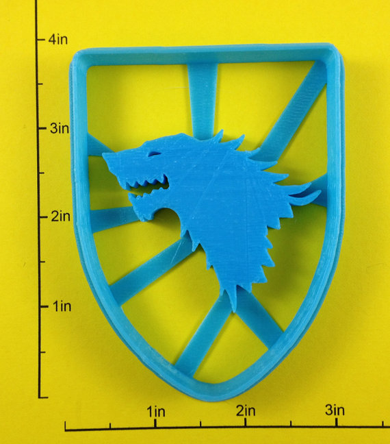 Game of Thrones Sigil Cookie Cutters 2