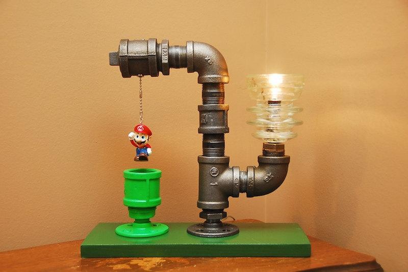 Super Mario Bros. Pipe Lamps | Geek Decor