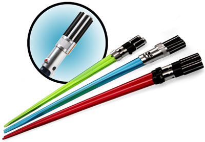 Star Wars Lightsaber Chopsticks - 1