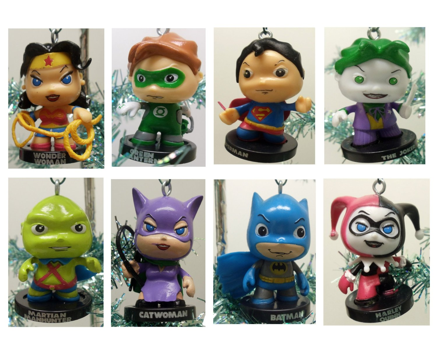DC Comics Characters Christmas Ornaments | Geek Decor