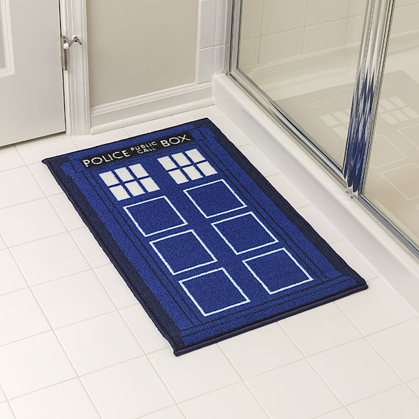 6 great items for a doctor who bathroom geek decor