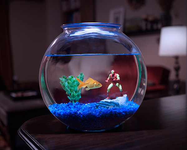 MARVEL Superheroes Aquarium Line | Geek Decor