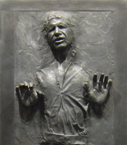STAR WARS Han Solo In Carbonite Wall Graphic