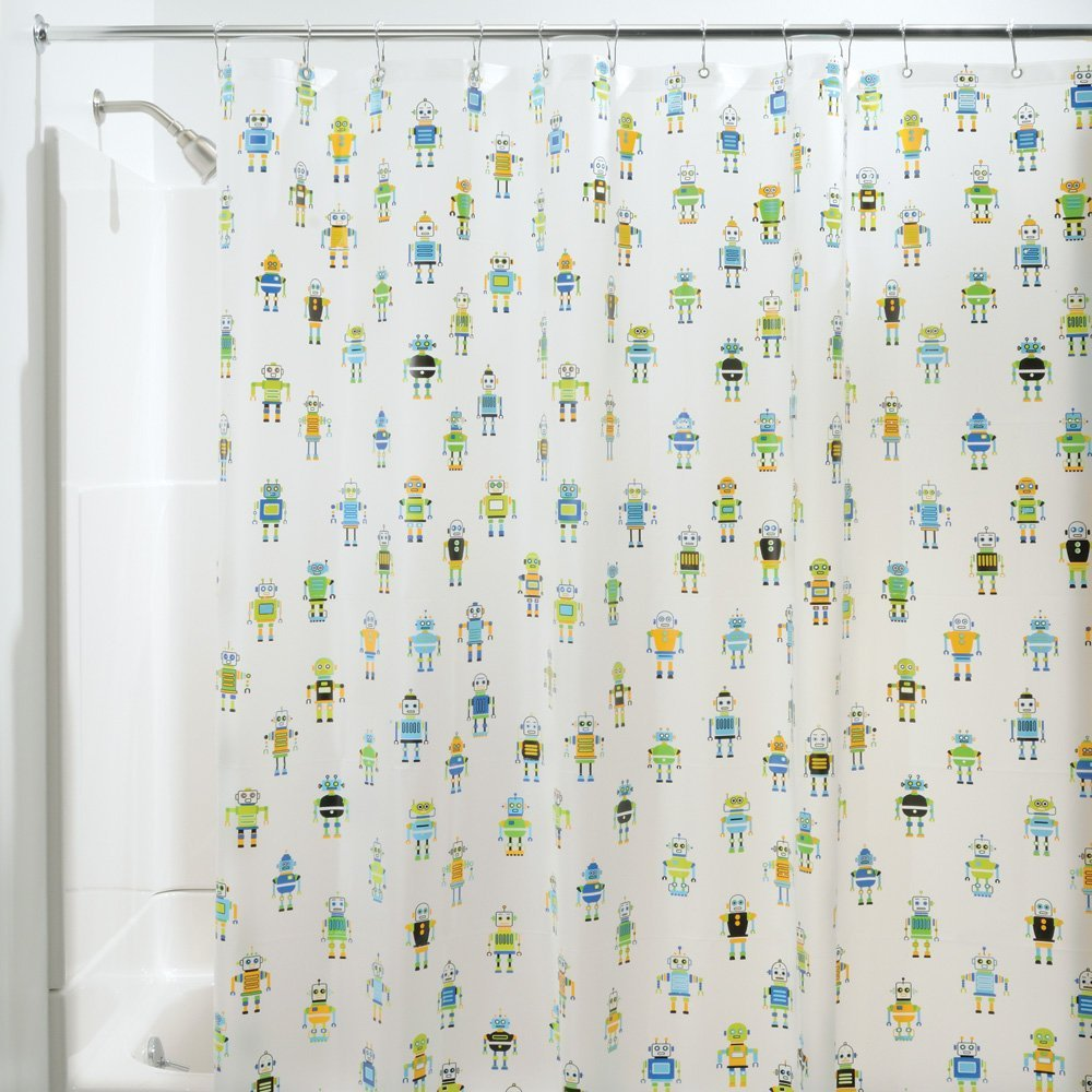 Robotz Shower Curtain By InterDesign