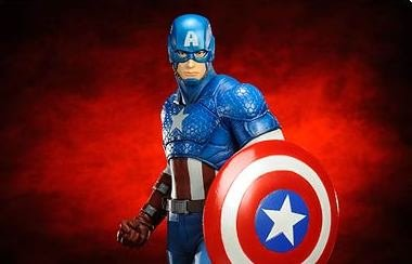 Captain America Statue - Geek Decor