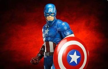 Captain America Statue - Geek Decor