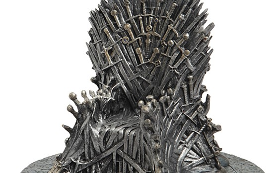 "Game Of Thrones: Iron Throne 7"" Replica - Geek Decor"