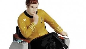 Star Trek Captain Kirk Salt and Pepper Shakers - Geek Decor