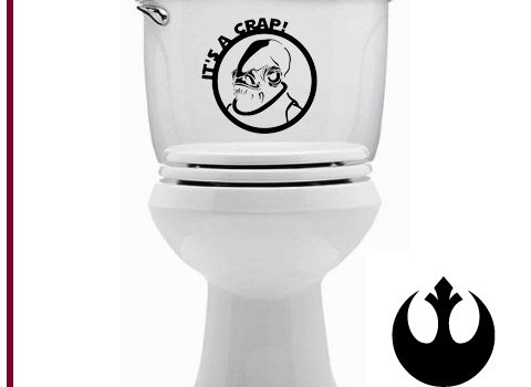 Star Wars It's A Crap Decal - Geek Decor