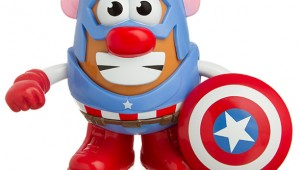 Captain America Potato Head - Geek Decor