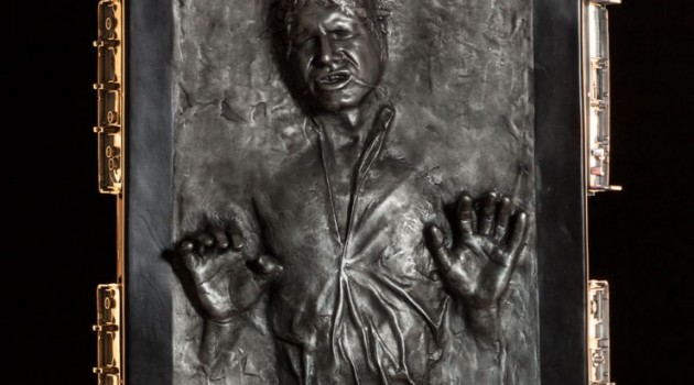 Lifesize Han Solo in Carbonite - Geek Decor