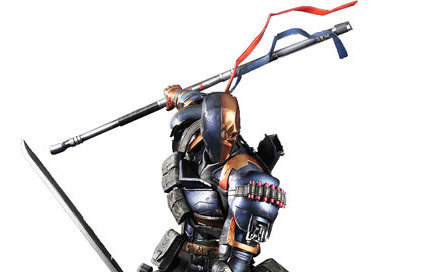 Batman Arkham Origins Deathstroke Action Figure - Geek Decor