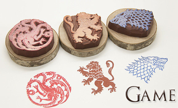 Game of Thrones Sigil Stamps - Geek Decor