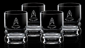 Star Trek U.S.S. Enterprise Glassware Set