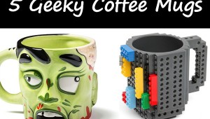 5 Geeky Coffee Mugs - Geek Decor