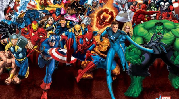 Marvel Heroes Poster - Geek Decor