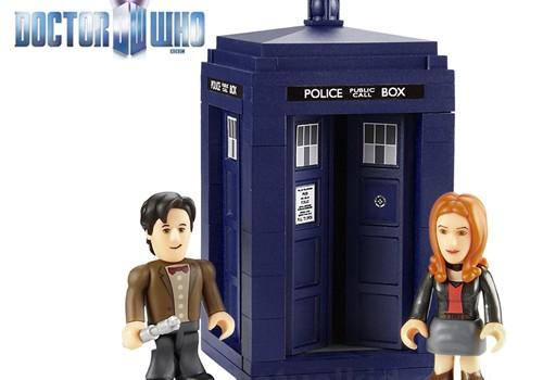 Doctor Who Building Blocks Geek Decor