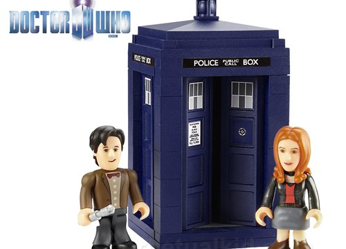 Doctor Who Building Blocks - Geek Decor