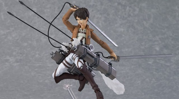 Attack on Titan Eren Jaeger Figma Pre-Painted PVC Figure Geek Decor