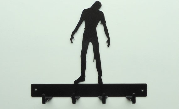 Zombie Key Rack - Geek Decor