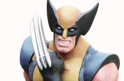Wolverine Bust Bank - Geek Decor