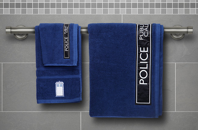 Doctor Who TARDIS Towels - Geek Decor