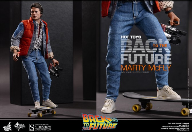 Back to the Future Marty McFly! 30th Anniversary Figurine