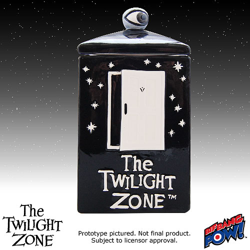 The Twilight Zone Cookie Jar