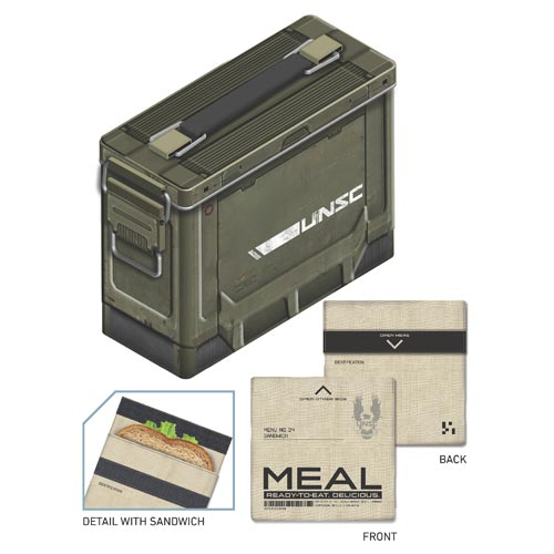 HALO 4 Ammo Crate Lunch Box