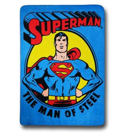 Superman Fleece Blanket - Geek Decor