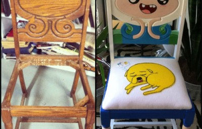 Do It Yourself Adventure Time Chair