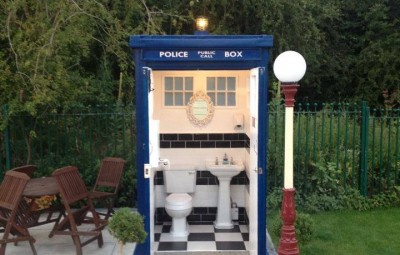 The TARDIS Dr. Who Loo