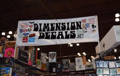 Dimension Decals Banner - Geek Decor