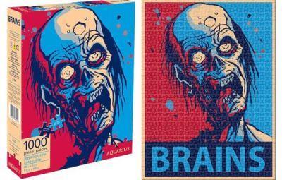 Zombie Brains Puzzle - Geek Decor