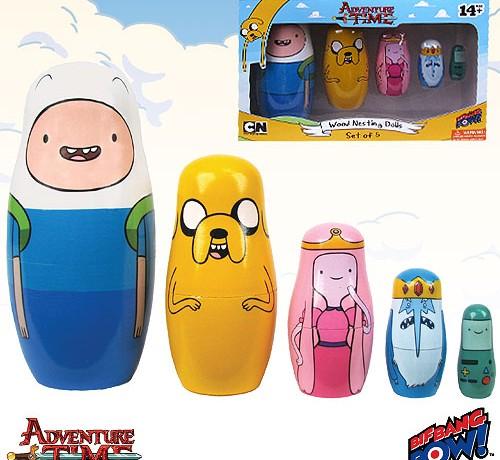 Adventure Time Russian Nesting Dolls - Geek Decor