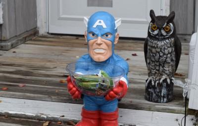 Captain America Candy Bowl Holder - Geek Decor