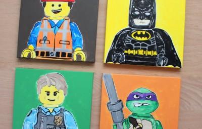 Geeky Paintings - Geek Decor