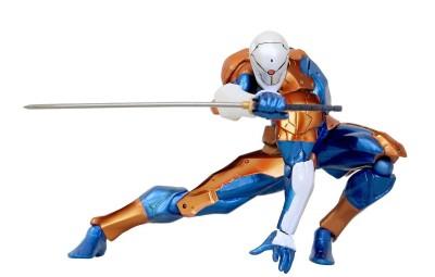 Micro Mini Revoltech Cyborg Ninja Figure Geek Decor