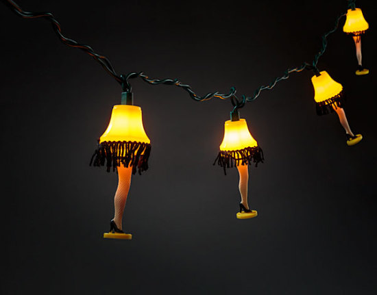 Light Up Your Christmas Story Holidays With Some Legs Geek Decor