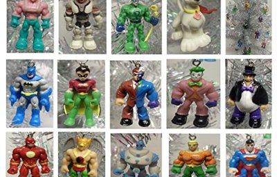 DC Comics Ornaments Set - Geek Decor
