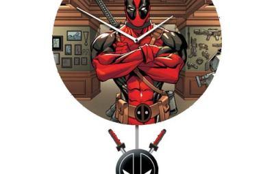 Deadpool Clock - Geek Decor