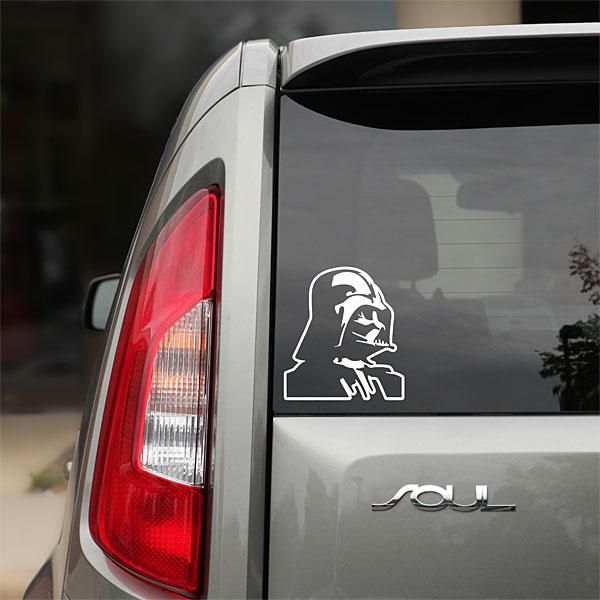 Man Cave Cutz : Star wars die cutz auto decals will you go dark geek