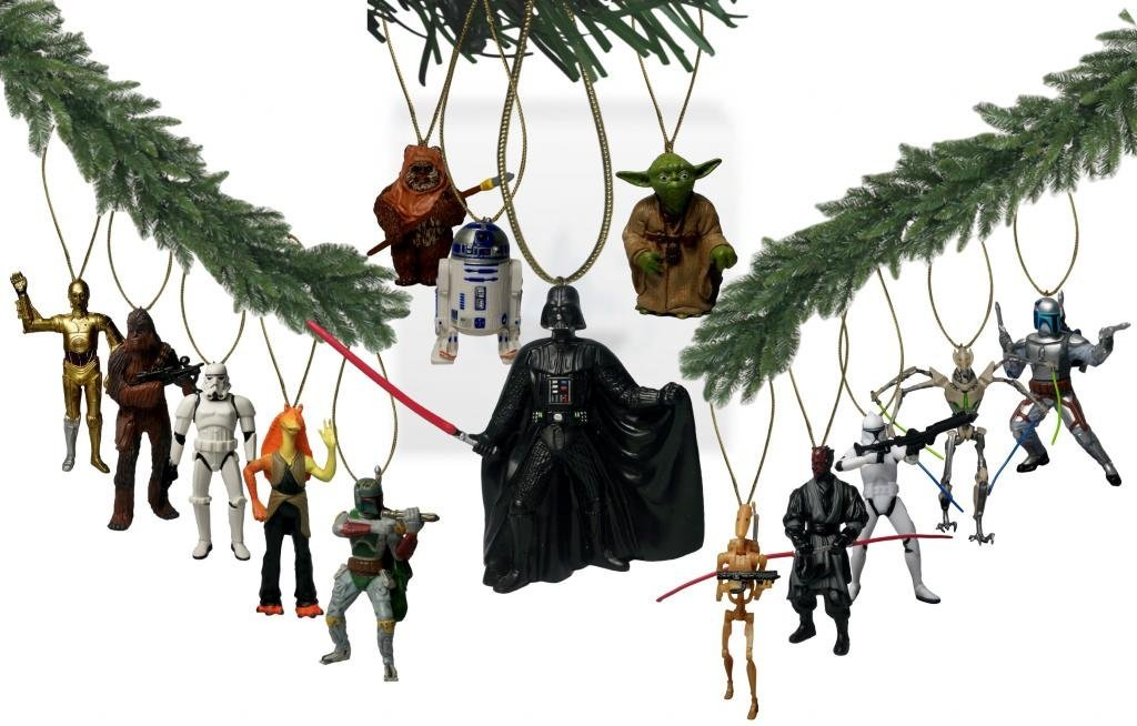 Have A Star Wars Christmas With These Ornaments  Geek Decor
