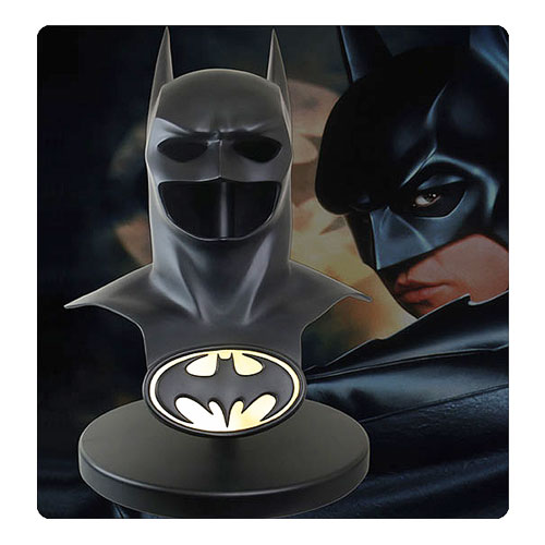 Elevate Your Collection With The Batman Forever Movie Cowl Geek Decor