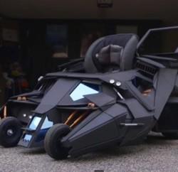Batmobile Stroller - Geek Decor