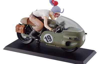 Dragon Ball Bulma riding motorbike figure