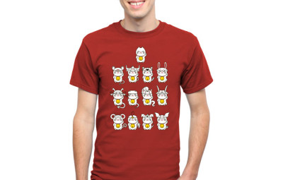 Chinese New Year T-Shirt - Geek Decor