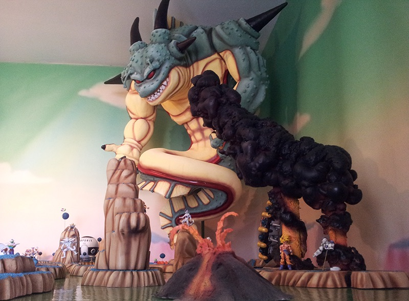 The ultimate dragon ball z model you just have to see for Sofas con shenlong