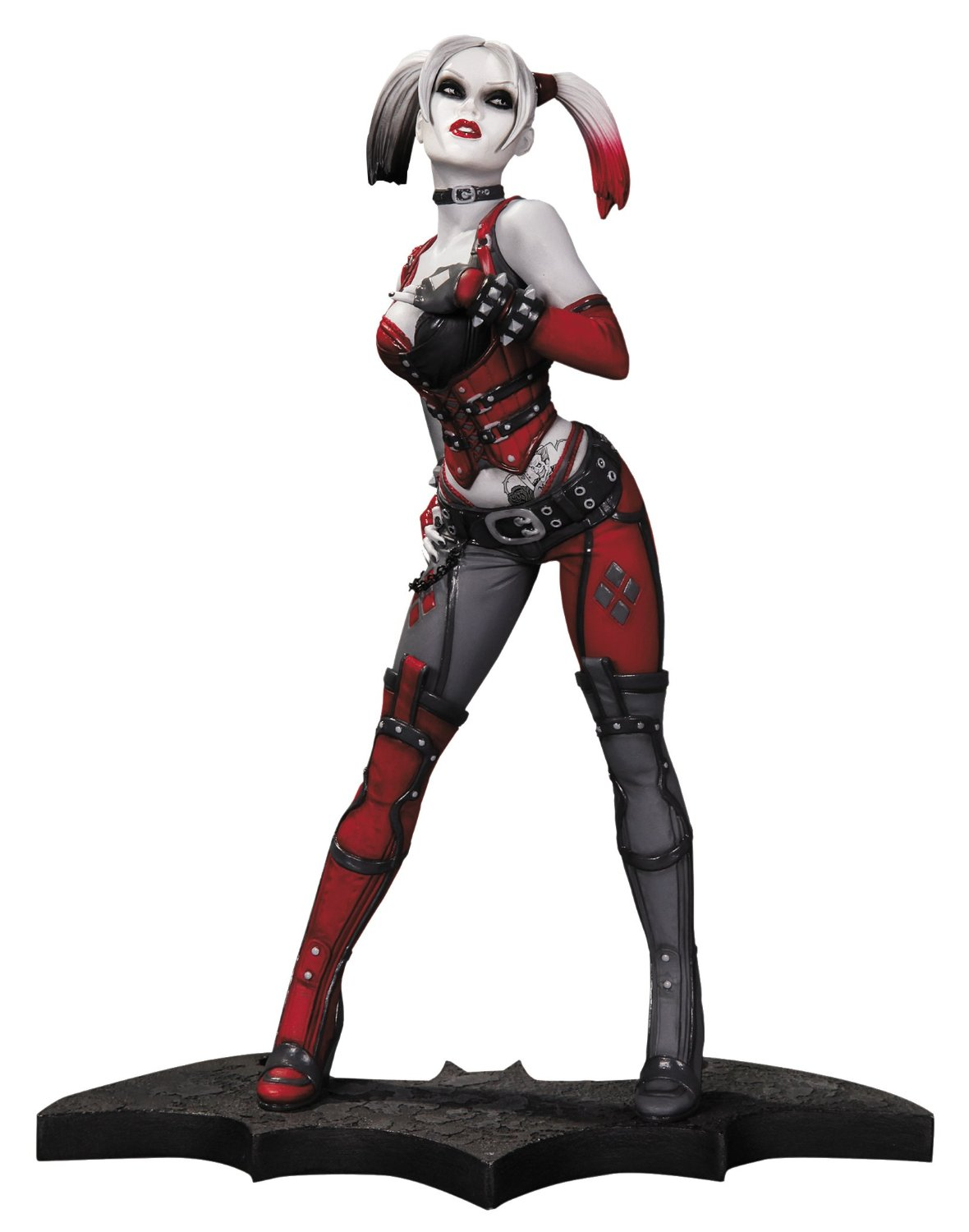 Bedroom Diy Pinterest Arkham City Statue Harley Quinn Statue Geek Decor