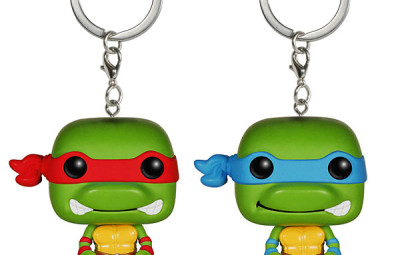 TMNT Keychains Raphael and Leonardo - Geek Decor